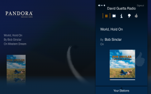 Pandora App on Boxee Beta